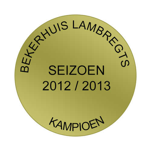 Medaille Sticker