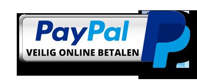 Paypal betalen mogenlijk.